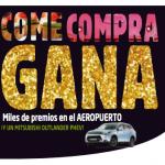 """Gran campaña """"Come, Compra, Gana"""" de Aena en los principales aeropuertos de España"""