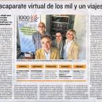 1000tentaciones.com sale en el Heraldo de Aragón