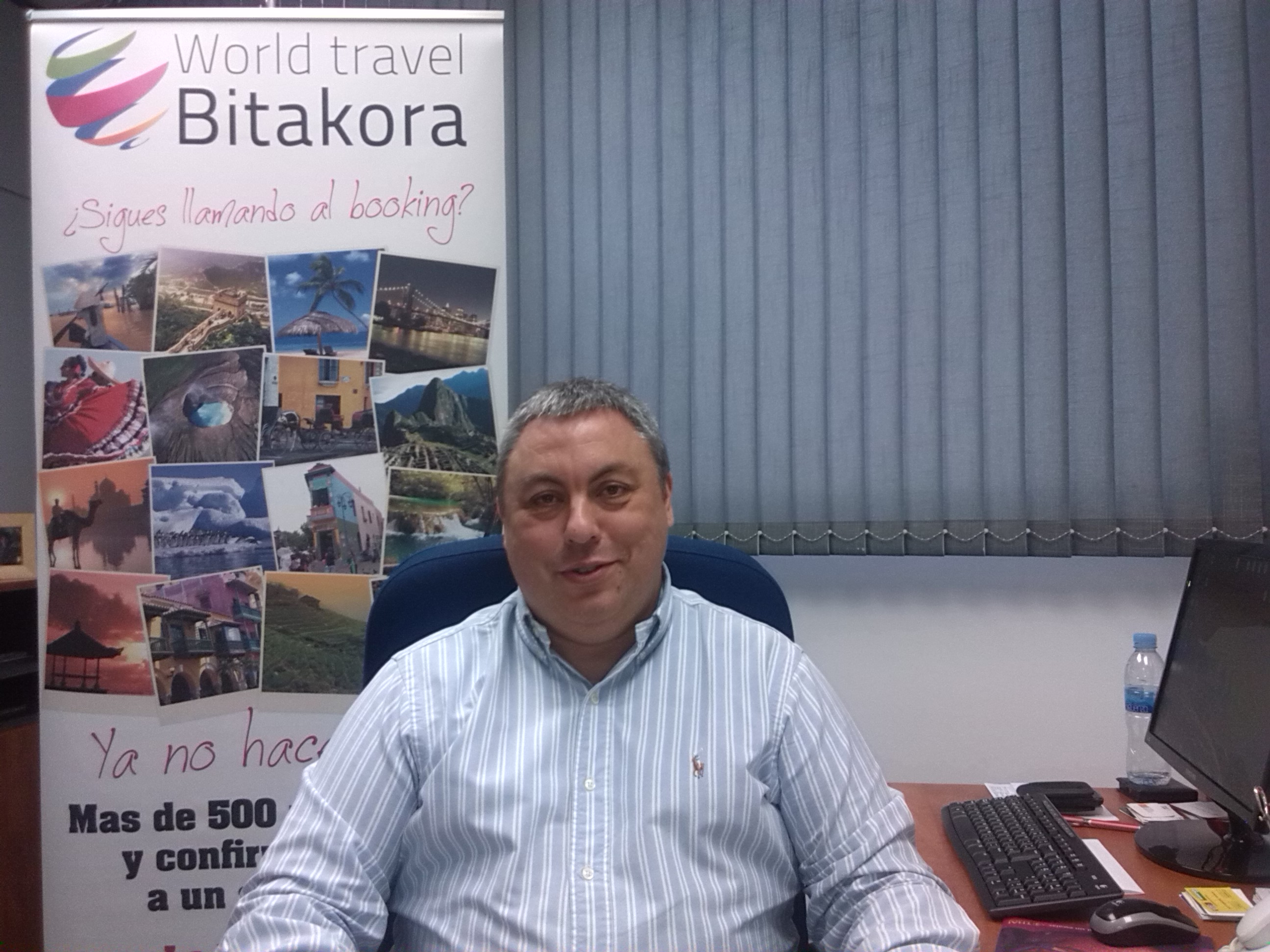 Patricio Barbancho de World Travel Bitakora