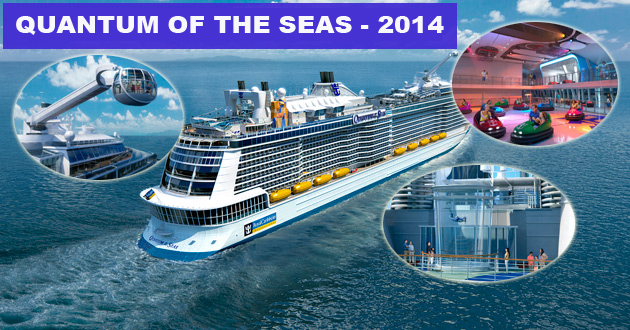 Quantum of the seas : una nueva generación de cruceros