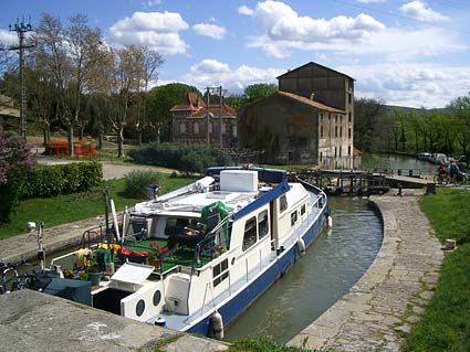 Crucero por el Canal du Midi (Francia)