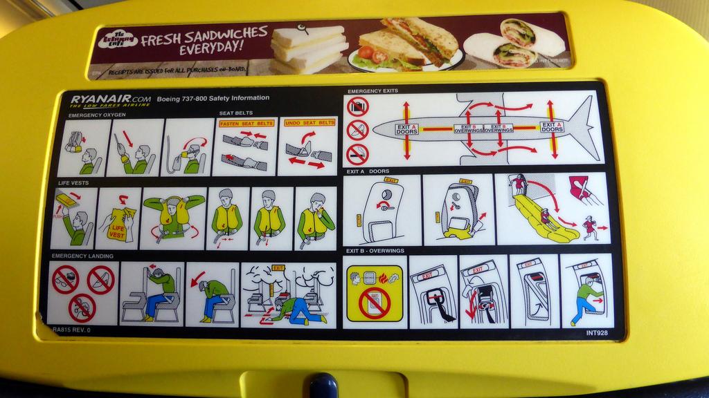 Seguridad en Ryanair